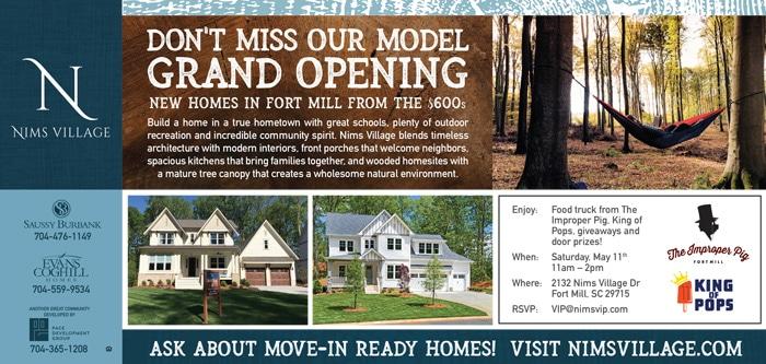 Nims Village Model Opening